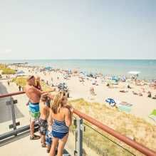 Grand Bend has earned a reputation as one of Canada's best beach towns. Grand Bend's Main Beach is one of only 26 in Canada to have earned official Blue Flag status. Ontario, Family Travel, Family Trips, Beach Town, Sandy Beaches, Beach Mat, Michigan, Road Trip, Canada