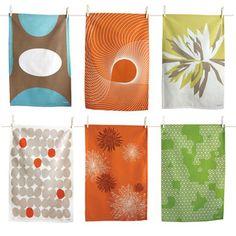 Tea towels by Tikoli