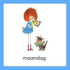 maandag Daily Schedule Preschool, Schedule Cards, Home Schooling, Schmidt, Preschool Activities, Kindergarten, Clip Art, Education, Christmas Ornaments