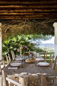 Comedores de verano al aire libre en Chic