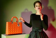 Lady Dior campaign with Marion Cotillard
