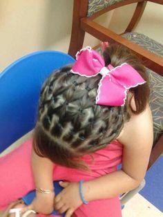 Peinados para niñas. Girl hair styles. @niñas