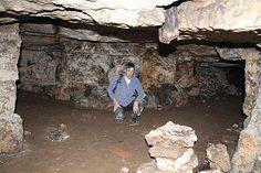 Недалеко от Москвы Старица пещеры каменоломня Барсучья нора