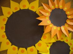 Few sunflowers for the Frozen Fever party...:)
