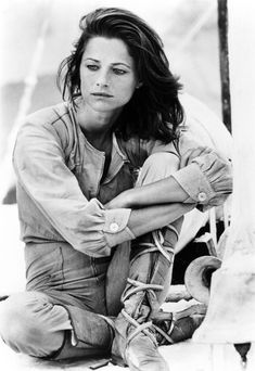"""Charlotte Rampling in the 1977 film """"Orca."""""""