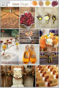 The Bridal Boulevard: {Dream Board} - Autumn Daze