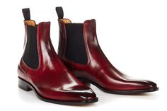 The Dean Chelsea Boot - Oxblood