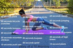 Anywhere HIIT Workout!