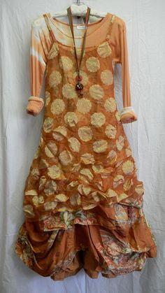 Mango polka dot outfit by Krista Larsen from Kati Koos