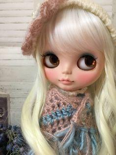 momo.b Custom Blythe pastel-chan  Buy her here:   #blythe #blythedolls #kawaii #cute #rinkya #japan #collectibles #neoblythe #customblythe