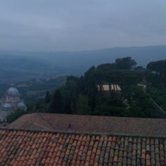 Breathtaking view from the gothic bell tower of S. Fortunato in #Todi #Umbria