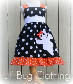 Hey, I found this really awesome Etsy listing at http://www.etsy.com/listing/79561627/custom-boutique-black-white-orange-polka