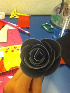 How to Make a Duck Tape Rounded Edge Rose