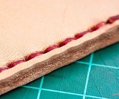 How to Hand Sew Leather - Snapguide