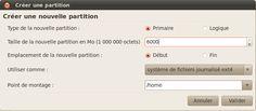 Création de la partition des documents