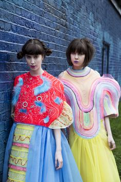 Vingi Wong BA (Hons) Fashion: Fashion Print 2013 Central Saint Martins