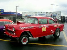 1955 Chevy gasser we insure these classics 1955 Chevy, 1955 Chevrolet, Best Insurance, Insurance Quotes, Old Race Cars, Hot Rod Trucks, Vintage Race Car, Sweet Cars, Drag Cars