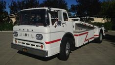 A 1957 Ford project truck that is currently under construction - Classic Trucks Magazine Old Ford Trucks, Ford Tractors, Semi Trucks, Classic Trucks Magazine, Car Carrier, Cab Over, Old Race Cars, Volkswagen Transporter, Vintage Trucks