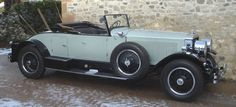 1925 Doble E-22 Steam Car first owned by Howard Hughes