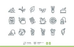 Smart Icons Matcha Green Tea on Behance