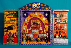 Not strictly Caribbean but an amazing piece of work for Día de los Muertos. Ofrenda for the Souls by Teyacapan, via Flickr