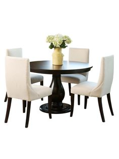Bacara Dining Room Set (5 PC) by Abbyson Living at Gilt