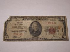 $20 1929 Fort Atkinson Wisconsin WI National Currency Bank Note Bill! #157 RARE! http://www.collectiblenotes.com/20-1929-fort-atkinson-wisconsin-wi-national-currency-bank-note-bill-157-rare/