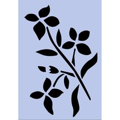 071 Spring is an A5 shaped stencil designed to work with furniture projects, we love to use Annie Sloan Chalk Paint - £6.95
