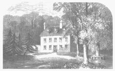 Wood engraving of Steventon Rectory from James Edward Austen-Leigh's Memoir (22).  By permission of Oxford University Press.