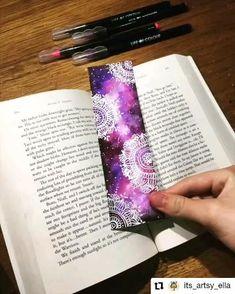 Watercolor Mandala, Watercolor Bookmarks, Watercolor Galaxy, Watercolor Lettering, Galaxy Painting, Mandala Book, Mandala Doodle, Mandala Art Lesson, Mandala Drawing