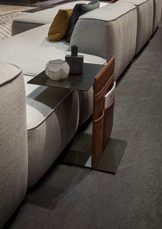 Lema - Note side table, Cloud sofa