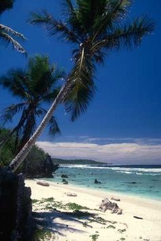 Anibare Beach, Nauru- one of 9 islands to Disconnect and Escape an Overstimulated World