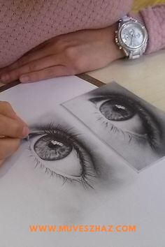 Hogyan rajzoljunk szemet? A tökéletes szem rajz, a portré kulcsfontosságú eleme, hiszen ha a tekintet élettelen, akkor rajzunk is azzá válik.