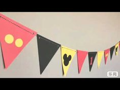 Mickey Mouse Banner/Birthday Party/Mickey Mouse Clubhouse/First Birthday/Minnie Mouse, Red, Yellow, Black Mickey Mouse Banner, Mickey Mouse Classroom, Mickey Mouse Birthday Decorations, Fiesta Mickey Mouse, Theme Mickey, Mickey Mouse Clubhouse Birthday, 1st Birthday Banners, Mickey Mouse Parties, Mickey Birthday