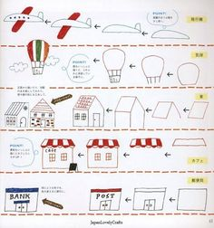 Kawaii Ball-Point Pen Illustrations 466 by JapanLovelyCrafts