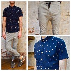 Zanerobe Sureshot Chino: $135 Zanerobe Malibu Diamond Print Shirt: $118