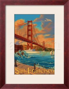 Also for the basement. Hmm, I'm seeing a regional theme here.... San Francisco vintage-style art.