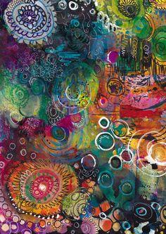 art journal colour