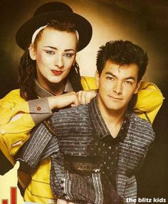 They were so in love just look at the way Jon hold Boy George you could just tell.