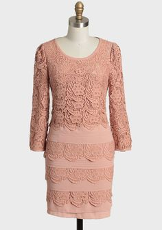 Sophia Monique Tiered Lace Dress at #Ruche @shopruche