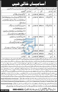 Jobs in Kohistan KPK 2021 District Court for Senior Scale Steno Grapher
