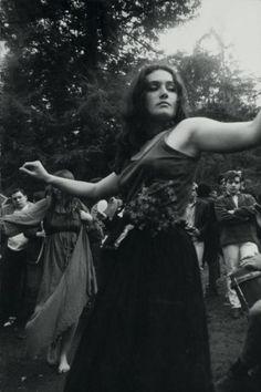 Untitled (Hippie Girl Dancing), ((c) Dennis Hopper, courtesy The Hopper Art Trust) Woodstock Hippies, Woodstock Music, Grunge, Indie, Dennis Hopper, Hippie Culture, Joe Cocker, Joan Baez, Royal Academy Of Arts