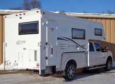 The Northstar 12STC, a 12-foot, non-slide, non-basement, side-entry, dry bath truck camper. http://www.truckcampermagazine.com/news/tcm-exclusive-2016-northstar-12stc