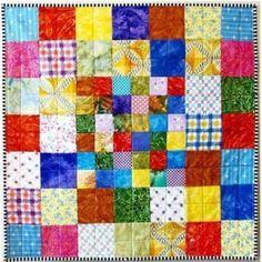 Checkerboard Scrappy Quilt