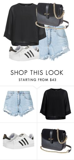 """""""Outfit #1843"""" by lauraandrade98 on Polyvore featuring moda, Nobody Denim, Object Collectors Item y adidas"""