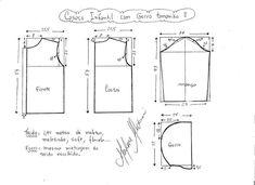 Выкройка куртки с капюшоном для девочки (Шитье и крой) | Журнал Вдохновение Рукодельницы