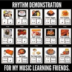 RHYTHM ♩♩♫♩Musical Musings ♫♩♫♩great for teaching kids what rye rhythms sounds like Music Games, Music Activities, Rhythm Games, Classroom Activities, Physical Activities, Piano Lessons, Music Lessons, Art Lessons, Music Lesson Plans
