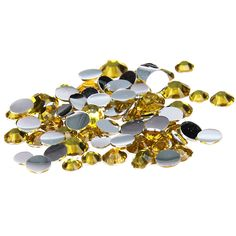 4.48$  Watch now - http://ali0v8.shopchina.info/go.php?t=32698766790 - 2016 New Arrive 2-6mm Citrine Resin Rhinestones Non Hotfix Glitter Beauty Beads For Nails Art Backpack DIY Design Decorations 4.48$ #bestbuy