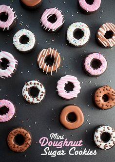 Decorating Doughnut cookies