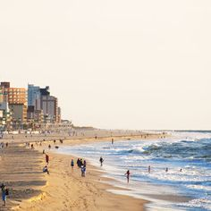 A full 10 miles long, Ocean City Beach is Maryland's gift to classic, seaside resort fun. Complete with boardwalk (and all the great shopping, bites, and amusements that line up along those historic treads), Ocean City Beach is great for swimming, surfing